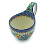 6-inch Stoneware Bowl with Handles - Polmedia Polish Pottery H5516I