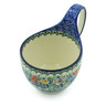 6-inch Stoneware Bowl with Handles - Polmedia Polish Pottery H5526I
