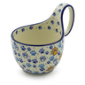 6-inch Stoneware Bowl with Handles - Polmedia Polish Pottery H5730J