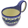 6-inch Stoneware Bowl with Handles - Polmedia Polish Pottery H6271F