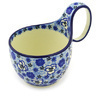 6-inch Stoneware Bowl with Handles - Polmedia Polish Pottery H7115F