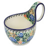 6-inch Stoneware Bowl with Handles - Polmedia Polish Pottery H7952B