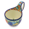 6-inch Stoneware Bowl with Handles - Polmedia Polish Pottery H8394I