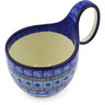 6-inch Stoneware Bowl with Handles - Polmedia Polish Pottery H8604F