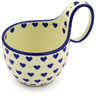 6-inch Stoneware Bowl with Handles - Polmedia Polish Pottery H8643F