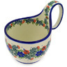 6-inch Stoneware Bowl with Handles - Polmedia Polish Pottery H8734D