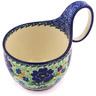 6-inch Stoneware Bowl with Handles - Polmedia Polish Pottery H9200G