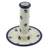 6-inch Stoneware Candle Holder - Polmedia Polish Pottery H0053B