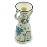 6-inch Stoneware Candle Holder - Polmedia Polish Pottery H0683I