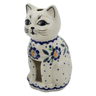 6-inch Stoneware Candle Holder - Polmedia Polish Pottery H2920K