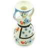 6-inch Stoneware Candle Holder - Polmedia Polish Pottery H5804H