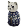 6-inch Stoneware Candle Holder - Polmedia Polish Pottery H6522K