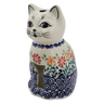 6-inch Stoneware Candle Holder - Polmedia Polish Pottery H6594K