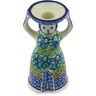 6-inch Stoneware Candle Holder - Polmedia Polish Pottery H6770G