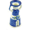 6-inch Stoneware Candle Holder - Polmedia Polish Pottery H6944G