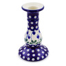 6-inch Stoneware Candle Holder - Polmedia Polish Pottery H7021B