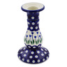 6-inch Stoneware Candle Holder - Polmedia Polish Pottery H8034B