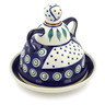 6-inch Stoneware Cheese Lady - Polmedia Polish Pottery H4927C