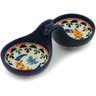 6-inch Stoneware Condiment Server - Polmedia Polish Pottery H8963B