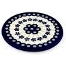 6-inch Stoneware Cutting Board - Polmedia Polish Pottery H0156A