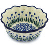 6-inch Stoneware Fluted Bowl - Polmedia Polish Pottery H2833H