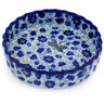 6-inch Stoneware Fluted Pie Dish - Polmedia Polish Pottery H4411D