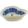 6-inch Stoneware Heart Shaped Bowl - Polmedia Polish Pottery H7293J