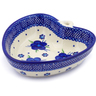 6-inch Stoneware Heart Shaped Bowl - Polmedia Polish Pottery H9201F