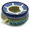 6-inch Stoneware Heater with Candle Holder - Polmedia Polish Pottery H2243H