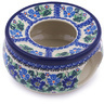 6-inch Stoneware Heater with Candle Holder - Polmedia Polish Pottery H6274F