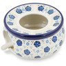 6-inch Stoneware Heater with Candle Holder - Polmedia Polish Pottery H8450K