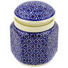 6-inch Stoneware Jar with Lid - Polmedia Polish Pottery H0487A