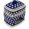 6-inch Stoneware Jar with Lid - Polmedia Polish Pottery H0782H