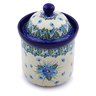6-inch Stoneware Jar with Lid - Polmedia Polish Pottery H0783I