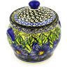 6-inch Stoneware Jar with Lid - Polmedia Polish Pottery H0821E