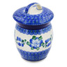 6-inch Stoneware Jar with Lid - Polmedia Polish Pottery H1039B