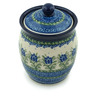 6-inch Stoneware Jar with Lid - Polmedia Polish Pottery H2791C