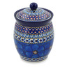 6-inch Stoneware Jar with Lid - Polmedia Polish Pottery H2792C