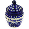 6-inch Stoneware Jar with Lid - Polmedia Polish Pottery H3098E