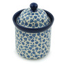 6-inch Stoneware Jar with Lid - Polmedia Polish Pottery H3144B