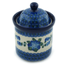 6-inch Stoneware Jar with Lid - Polmedia Polish Pottery H4655I