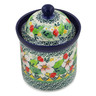 6-inch Stoneware Jar with Lid - Polmedia Polish Pottery H5531L