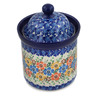 6-inch Stoneware Jar with Lid - Polmedia Polish Pottery H5562L