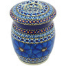 6-inch Stoneware Jar with Lid - Polmedia Polish Pottery H5728G