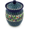 6-inch Stoneware Jar with Lid - Polmedia Polish Pottery H5938E