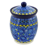 6-inch Stoneware Jar with Lid - Polmedia Polish Pottery H7500J