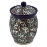 6-inch Stoneware Jar with Lid - Polmedia Polish Pottery H7504J