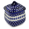 6-inch Stoneware Jar with Lid - Polmedia Polish Pottery H9120B