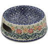 6-inch Stoneware Pet Bowl - Polmedia Polish Pottery H7772K