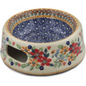 6-inch Stoneware Pet Bowl - Polmedia Polish Pottery H7811K